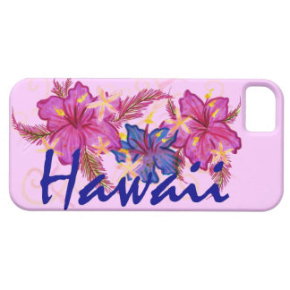 Hawaii hibiscus colorful iphone 5 case