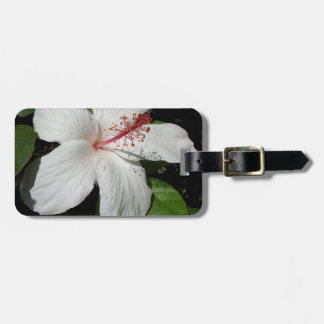 Hawaii Hibiscus Flower Luggage Tag