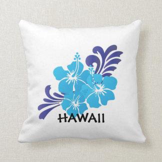 Hawaii Hibiscus Flower Pillow