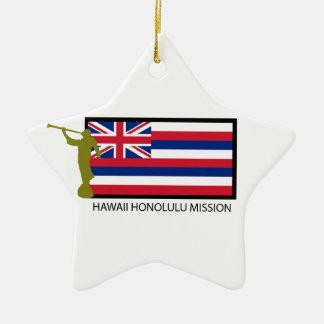 HAWAII HONOLULU MISSION LDS CTR CERAMIC ORNAMENT