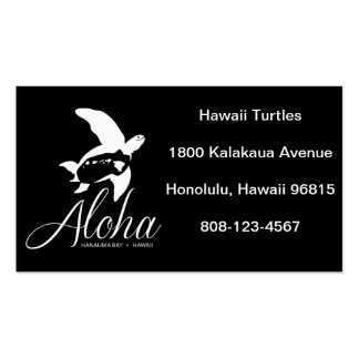 Hawaii Honu Turtle Pack Of Standard Business Cards
