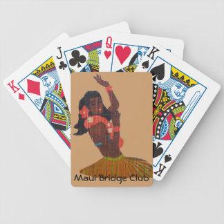 Hawaii Hula Girl Poker Deck