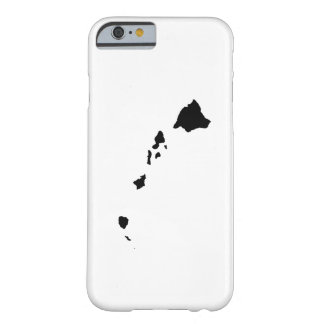 Hawaii in Black and White Barely There iPhone 6 Case
