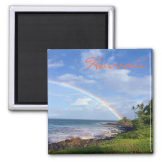 Hawaii Island Rainbow Magnet