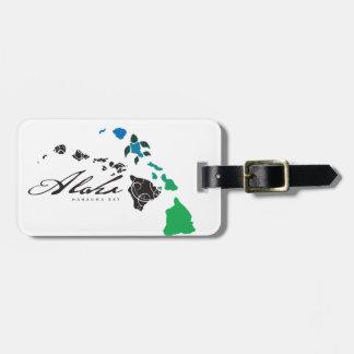 Hawaii islands 26 luggage tag