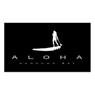 Hawaii Islands and Surfing Pack Of Standard Business Cards