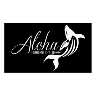 Hawaii Islands and Whale Pack Of Standard Business Cards