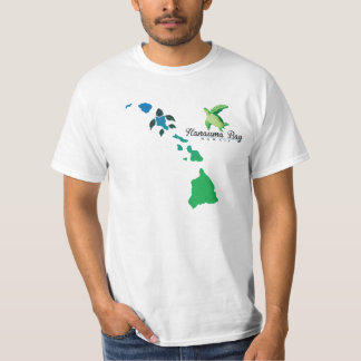 Hawaii Islands Chain - Hanauma Bay Oahu Turtle T-Shirt
