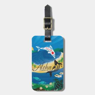 Hawaii Islands Luggage Tag