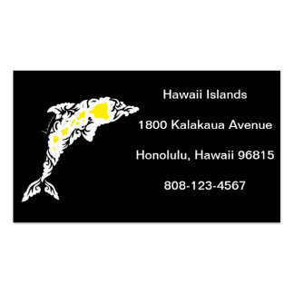 Hawaii Islands Pack Of Standard Business Cards