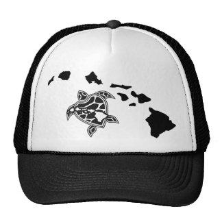 Hawaii Islands - Turtle Mesh Hat