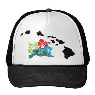 Hawaii Islands Turtles Cap