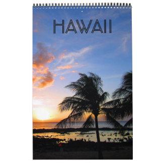 hawaii islands wall calendars