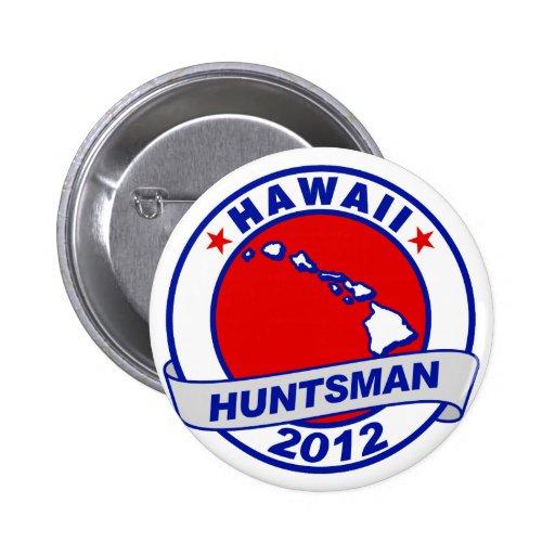 Hawaii Jon Huntsman Pinback Button