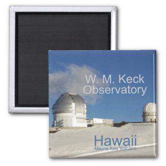 Hawaii Keck Telescopes Fridge Magnet