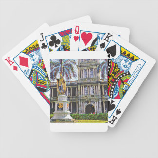 Hawaii King Kamehameha Modern Poker Deck