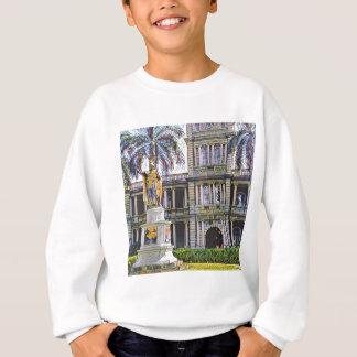 Hawaii King Kamehameha Modern Sweatshirt
