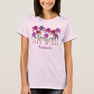 Hawaii Ladies Spaghetti Top (Fitted)
