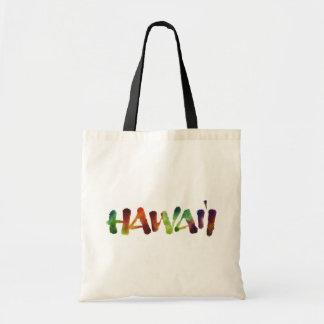 Hawai'i Lettering - Colorful Hawaii Beach Fun