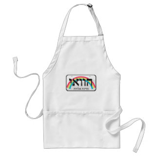 Hawaii License Plate in Hebrew Aprons