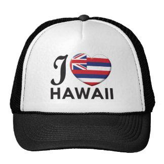 Hawaii Love Trucker Hats