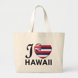 Hawaii Love Jumbo Tote Bag