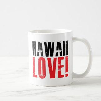 Hawaii Love Coffee Mugs