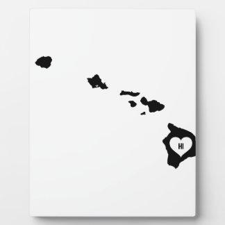 Hawaii Love Plaque