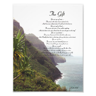 Hawaii Love Poem Photo Print
