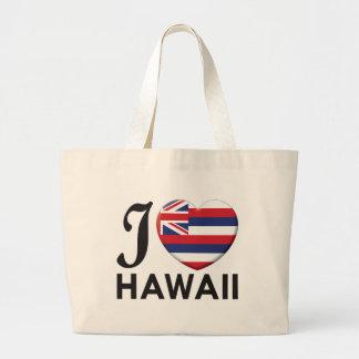 Hawaii Love Jumbo Tote Bag