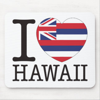 Hawaii Love v2 Mouse Pad