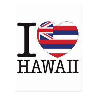 Hawaii Love v2 Postcard
