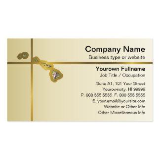 Hawaii Map Business Card
