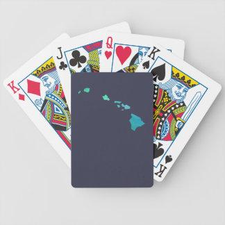 Hawaii Map Poker Deck