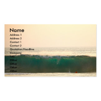 Hawaii Ocean Waves Pack Of Standard Business Cards