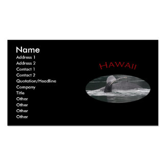 Hawaii Pack Of Standard Business Cards