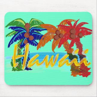 Hawaii palm tree mousepad