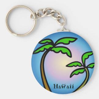 Hawaii Palm Trees Key Chain