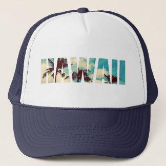 Hawaii Palms Trucker Hat