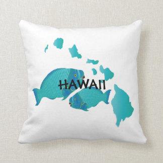 Hawaii Parrot Fish Pillow