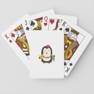 Hawaii Penguin Playing Cards