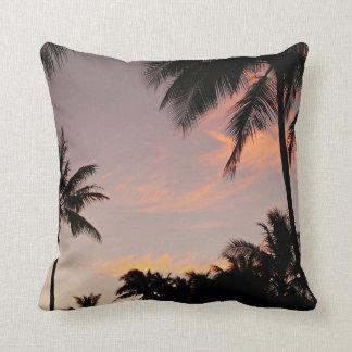 Hawaii pink sunset pillow case
