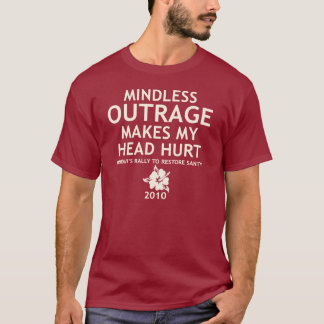 Hawaii Rally Shirt - Outrage Makes My Head Hurt