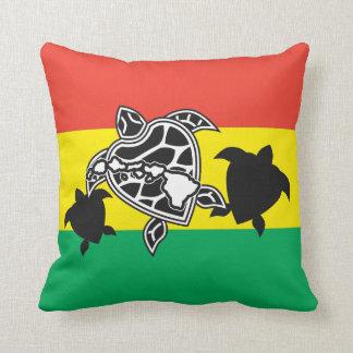 Hawaii Reggae Turtle Cushion