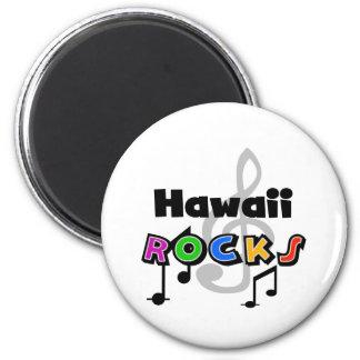 Hawaii Rocks 6 Cm Round Magnet