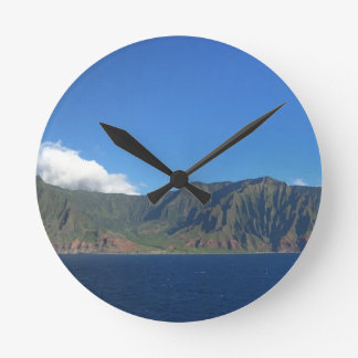 Hawaii Round Clock
