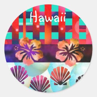Hawaii Round Sticker
