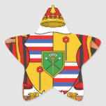 Hawaii Royal Coat of Arms Stickers