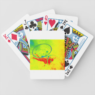 Hawaii scuba diver bicycle playing cards