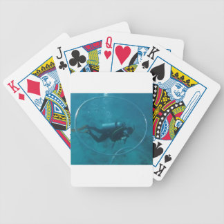 Hawaii scuba diver poker deck